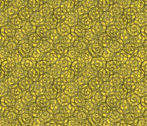 gypsy_swirls_lemon fabric by glimmericks on Spoonflower - custom fabric