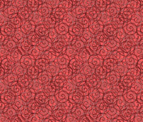 gypsy swirls coral fabric by glimmericks on Spoonflower - custom fabric