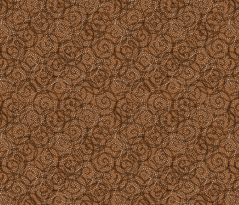 gypsy_swirls_soft_earth fabric by glimmericks on Spoonflower - custom fabric
