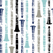 Grunge Clarinets - Shades of Blue