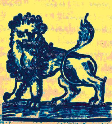 Lion Toile