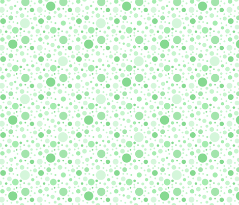 green dots fabric by kategabrielle on Spoonflower - custom fabric