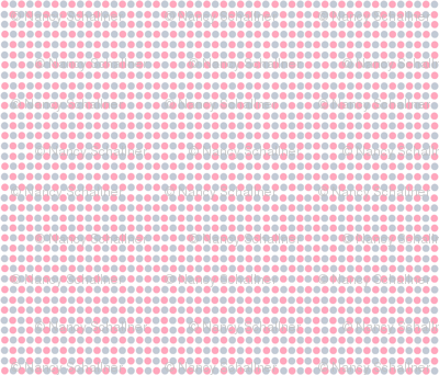 Pink & Gray Dots