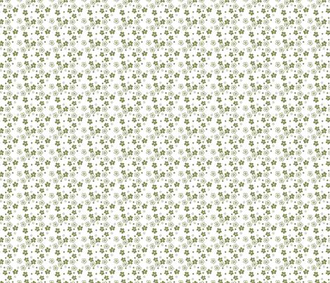 avocado flowers fabric by kategabrielle on Spoonflower - custom fabric