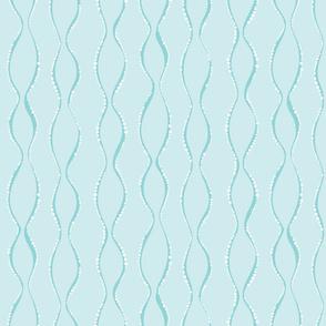 Bubble Waves Blue