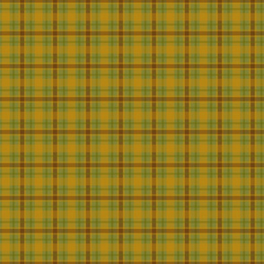 Green Plaid Country Prim
