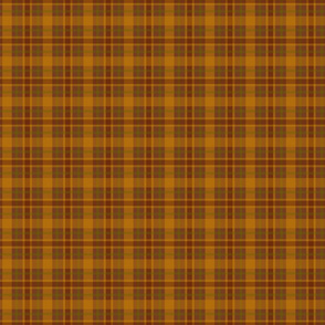 Red and Gold Plaid Country Prim