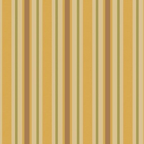 Gold Stripes Country Prim