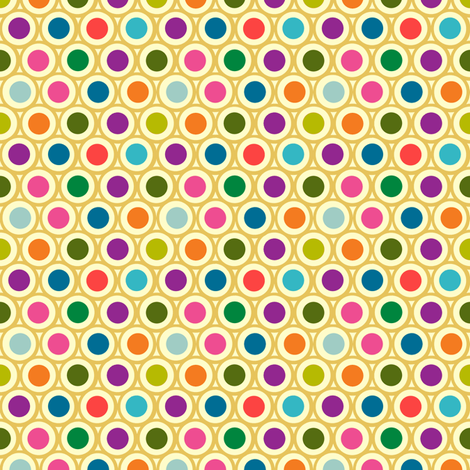 jewel tile fabric by keweenawchris on Spoonflower - custom fabric