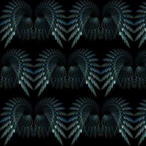 Angel Wings - Fractal Pattern