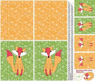 A Foxy Warmable Snuggle Kit: Bonus Handwarmers