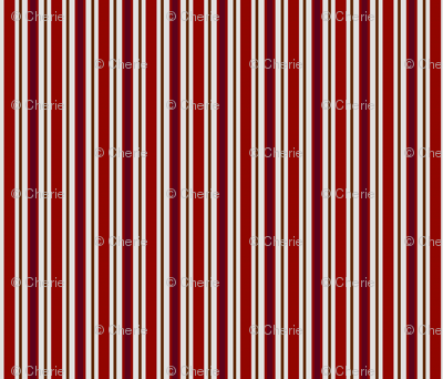 Country Prim Stripes in Red