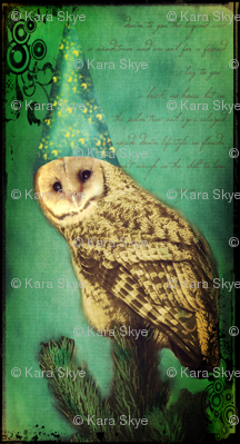 Wizard Hat Owl