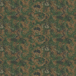 Sixth Scale Latvian Woodland Digital Camo