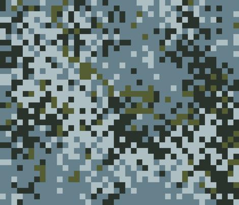 Latvian Urban Digital Camo fabric by ricraynor on Spoonflower - custom fabric