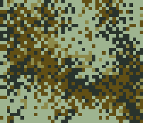 Latvian Universal Digital Camo fabric by ricraynor on Spoonflower - custom fabric