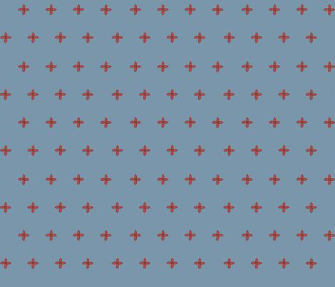 Cornflower fabric by hazelrose on Spoonflower - custom fabric