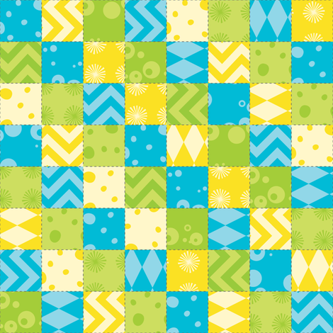 Morgan's Star Patchwork fabric by robyriker on Spoonflower - custom fabric