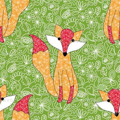 A foxy with moxie