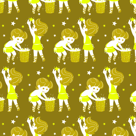 Gemini fabric by siya on Spoonflower - custom fabric