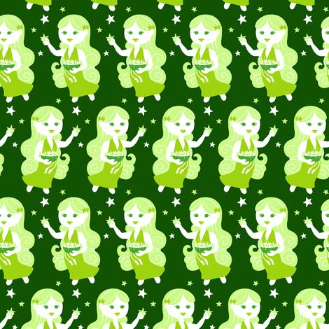 Virgo fabric by siya on Spoonflower - custom fabric