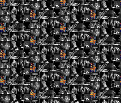 The Mummy fabric by dr_frybrain on Spoonflower - custom fabric