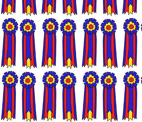 Champion Ribbon fabric by ragan on Spoonflower - custom fabric