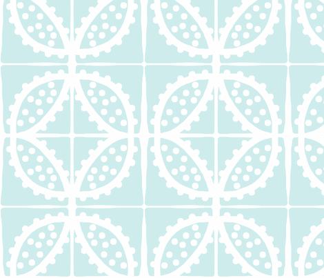 Spotty Sea Pod (lt. aqua) fabric by pattyryboltdesigns on Spoonflower - custom fabric