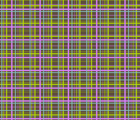 Plaid for funky ribbons fabric by ragan on Spoonflower - custom fabric