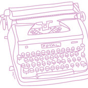 Rrrrrrroyal_typewriter_illus._b_w_by_patty_rybolt_shop_thumb