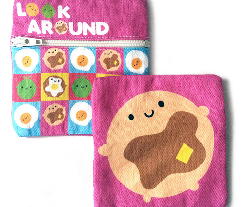 Kawaii Pancake Coin Purse - Cut & Sew Pattern