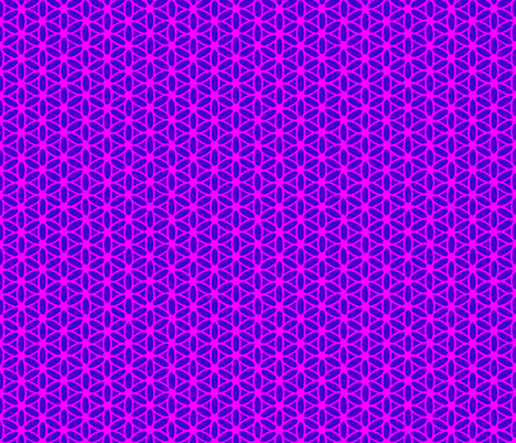 Flower of Life - Pink fabric by leahvanlutz on Spoonflower - custom fabric