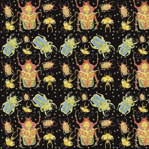 Beetles Rumble in the Dark