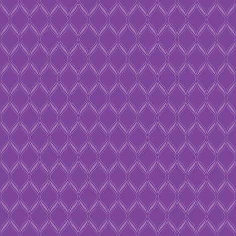 Purple Ogee fabric by robyriker on Spoonflower - custom fabric