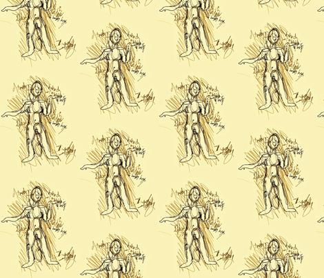 Average Sketch fabric by sissysoo on Spoonflower - custom fabric
