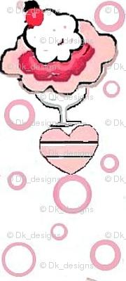 Pink ice cream delight 01