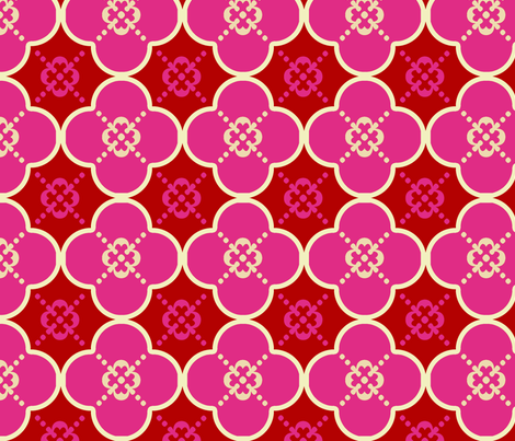 Clover6Cupid fabric by mgterry on Spoonflower - custom fabric