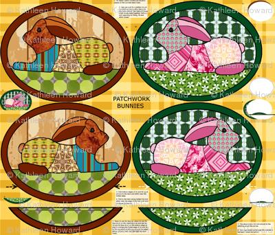 Patchwork_bunnies_pillow_covers