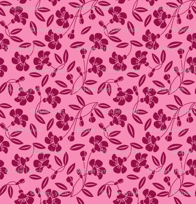 Japanese blossom pink