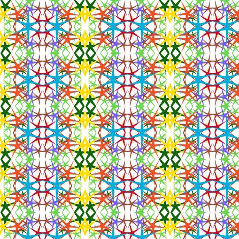 starburst 2 fabric by ravynscache on Spoonflower - custom fabric