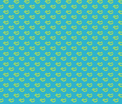 duckies fabric by cuddlebat on Spoonflower - custom fabric