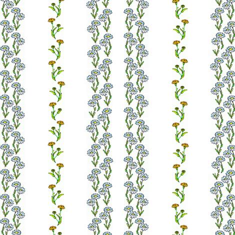 Fleurs fabric by ravynscache on Spoonflower - custom fabric