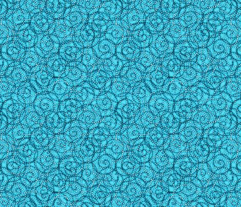 gypsy_swirls_turquoise fabric by glimmericks on Spoonflower - custom fabric