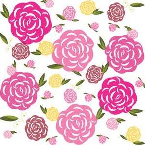 SoftFlowersp-PinksReds
