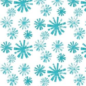 Starburst - aqua