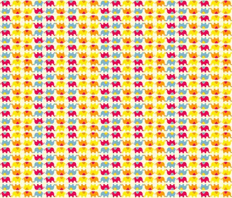 CircusTime-Elephants fabric by tavadesigns on Spoonflower - custom fabric