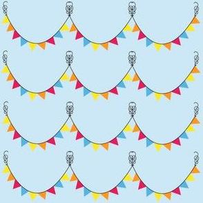 Festive Circus Pennants
