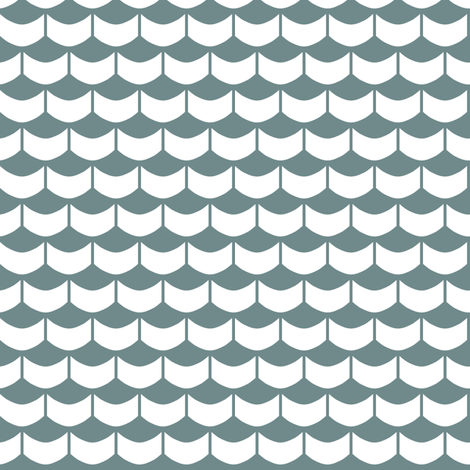 NauticalWaves fabric by mrshervi on Spoonflower - custom fabric