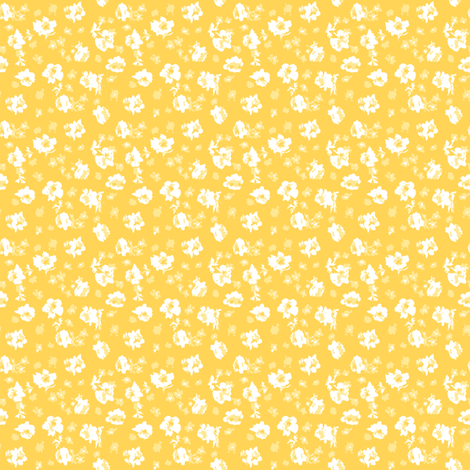 Lisianthus and Prairie Flowers fabric by janelle_wooten on Spoonflower - custom fabric