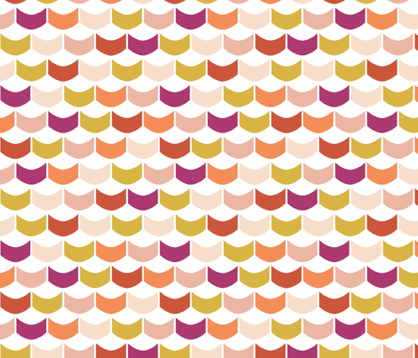 PinkScallops fabric by mrshervi on Spoonflower - custom fabric